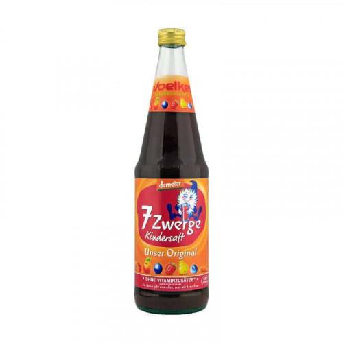 Bottle of Voelkel 7-Dwarfs Kids Juice, 700ml