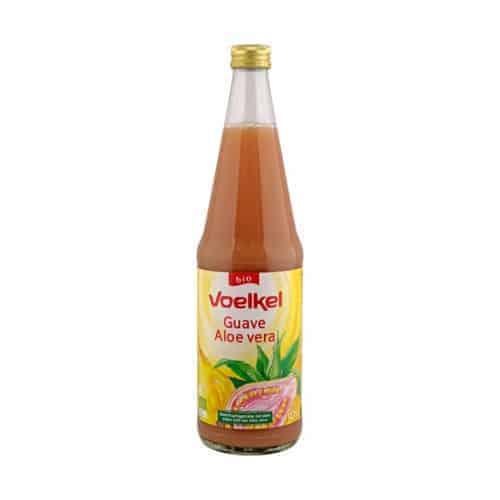 Bottle of Voelkel Guava Aloe Vera, 700ml