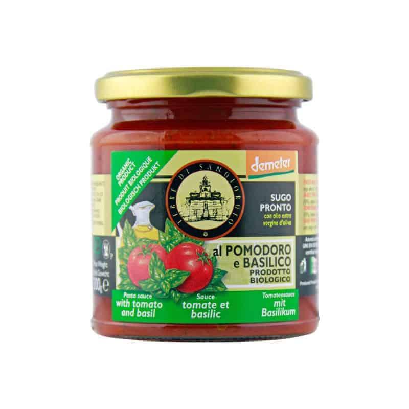 Terre Di Sangiorgio Pasta sauce Tomato with Basil, 300g
