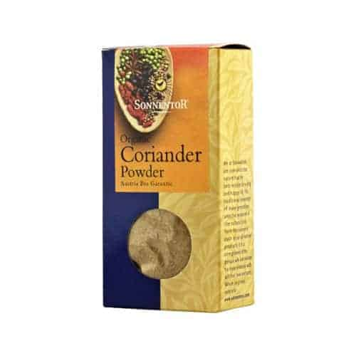 Box of Sonnentor Organic Coriander Powder, 50g