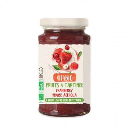 @@Vitabio Jam Tartinable Cranberry Fraise Acerola