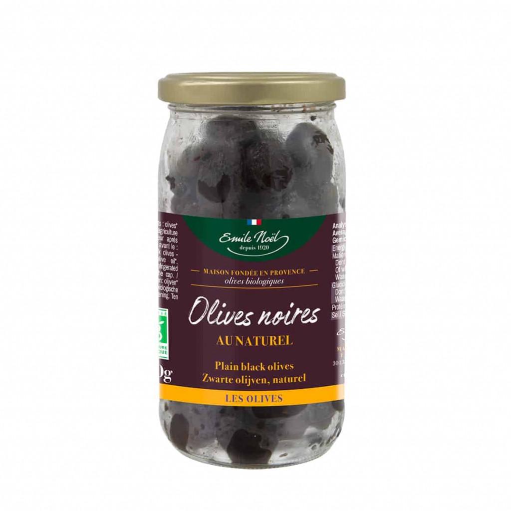 Emile Noel Plain Black Olive, 250g