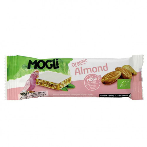 Mogli Almond Bar, 25g