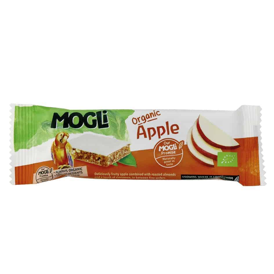 Mogli Organic Apple Bar, 25g