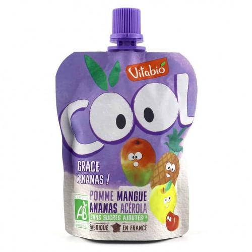 Packet of Vitabio Cool Fruit - Apple, Mango & Pineapple Juice, 90g