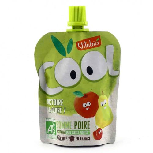 Packet of Vitabio Cool Fruit - Organic Apple, Pear & Acerola Juice, 90g