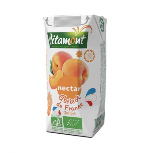 Carton of Vitamont Apricot Nectar Juice, 200ml