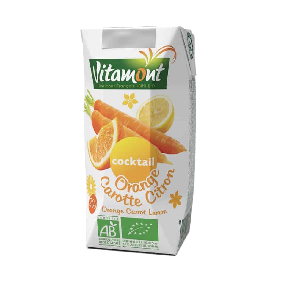 Vitamont Orange Carrot Cocktail, 200ml