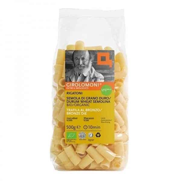 Girolomoni Rigatoni pasta, 500g
