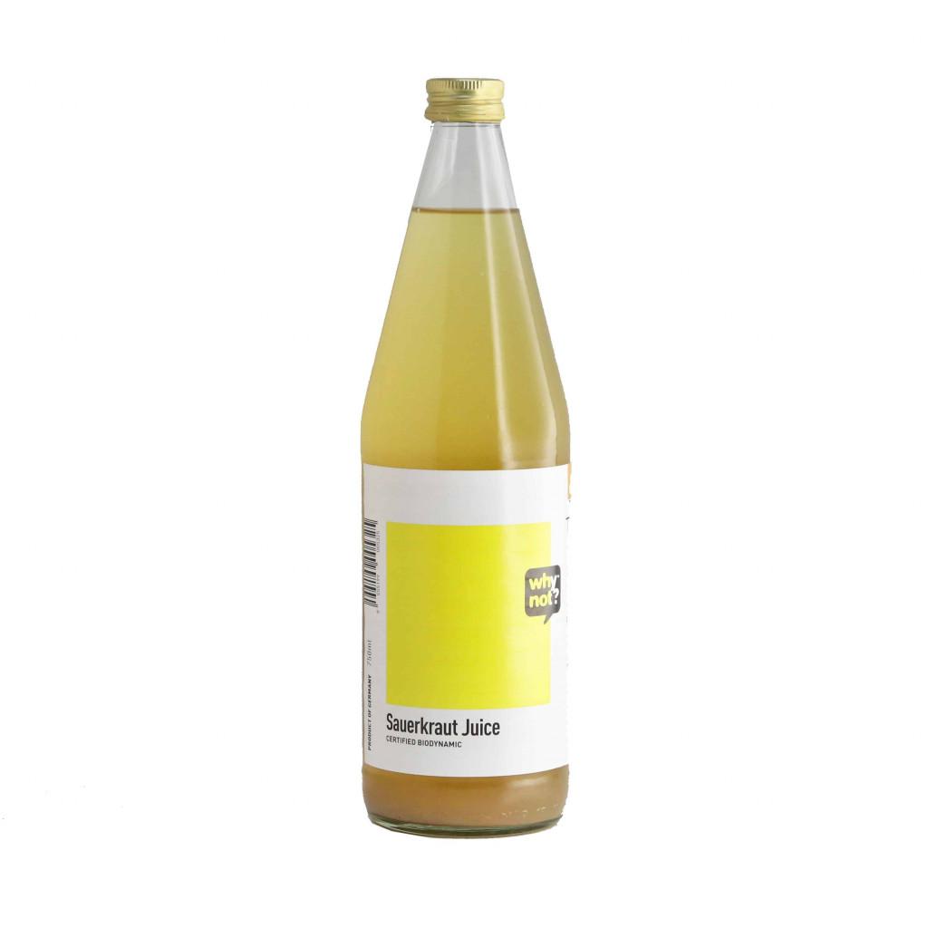 Why Not? Sauerkraut Juice, 750ml