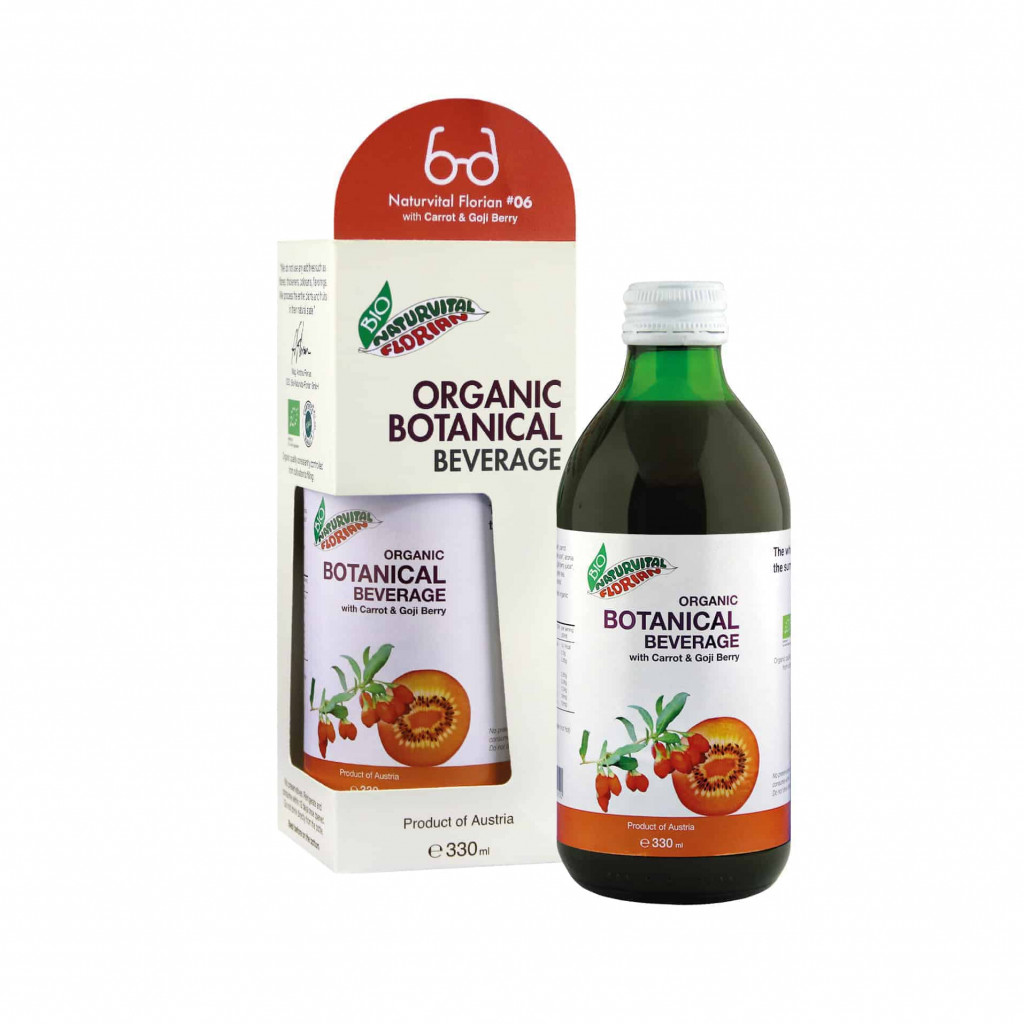 "#06 Naturvital Florian Organic ""Carrot & Goji Berry"", 330ml"