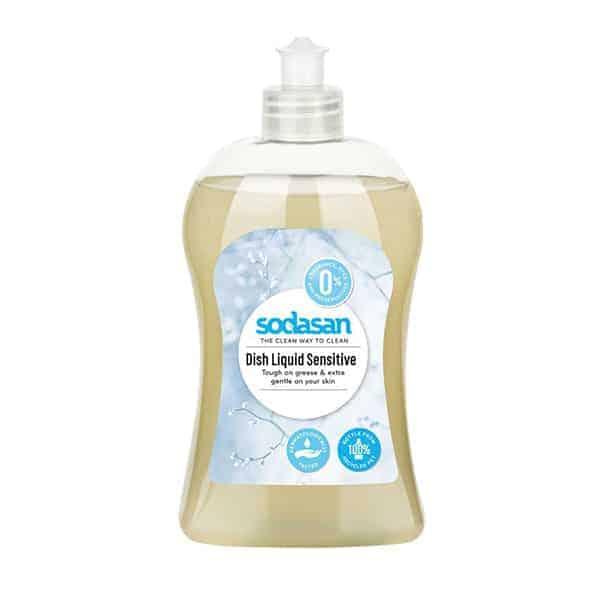 Sodasan Ecological Dishwashing Liquid Sensitive, 500ml