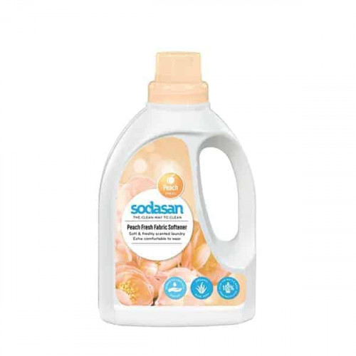 Sodasan Organic Peach Fresh Fabric Softener 750ml