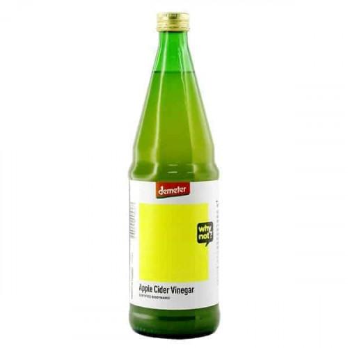 Why Not Organic Apple Cider Vinegar ACV Demeter 750ml