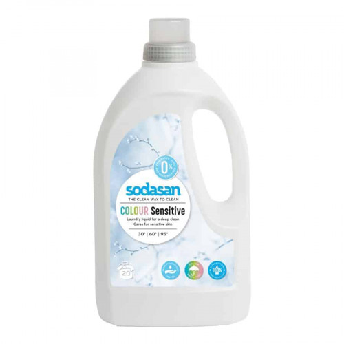 color sensistive laundry liquid