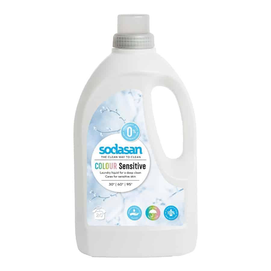 Sodasan Laundry Liquid Detergent Color Sensitive 1.5L