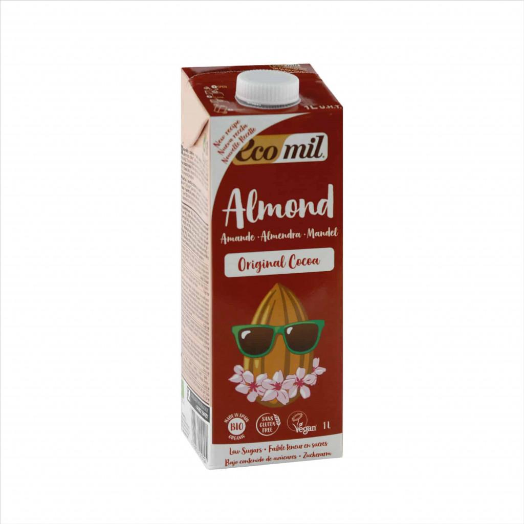 Ecomil  Almond Milk Agave Cocoa 1L