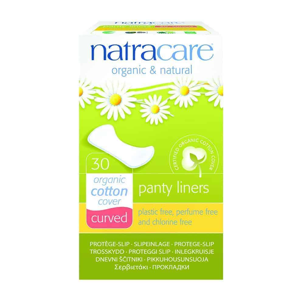 Natracare Curved Panty Shields, 30pc