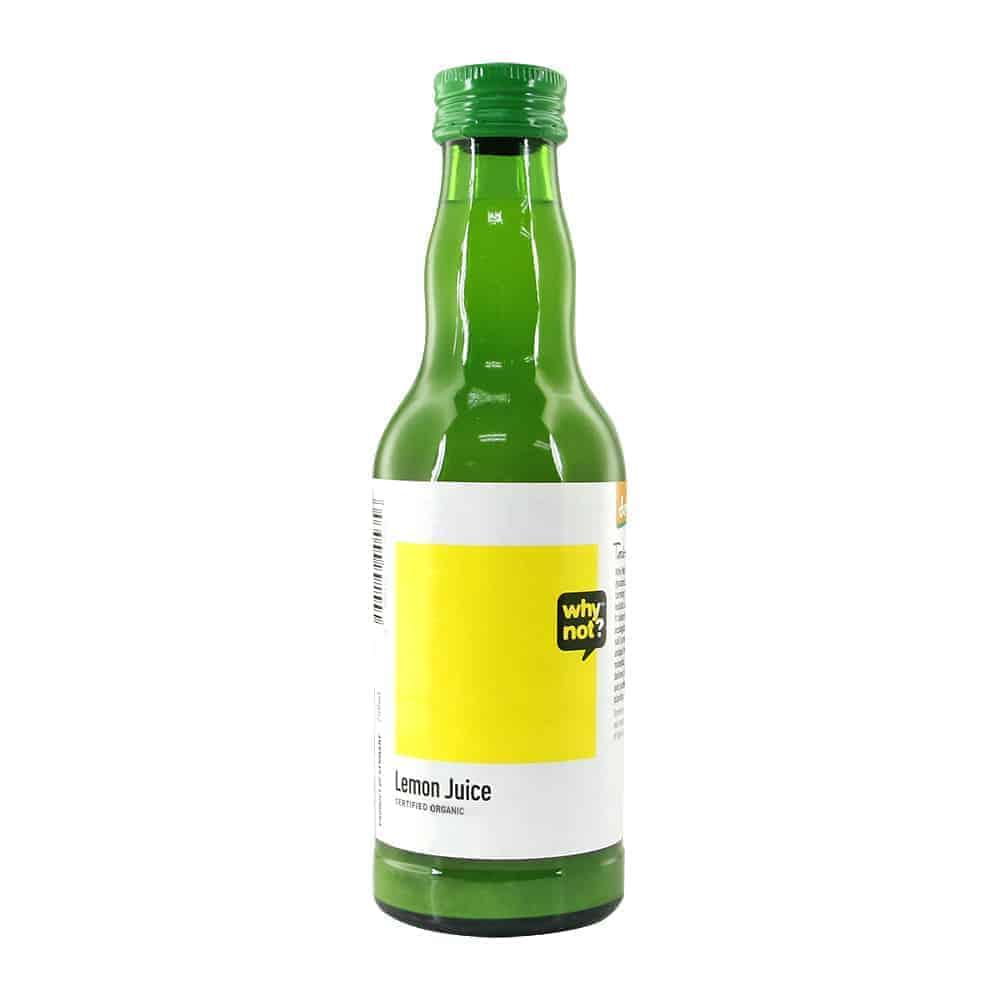 why not?® Lemon Juice Organic, 200ml