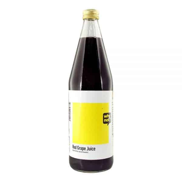 Why Not? Red Grape Juice, 750ml