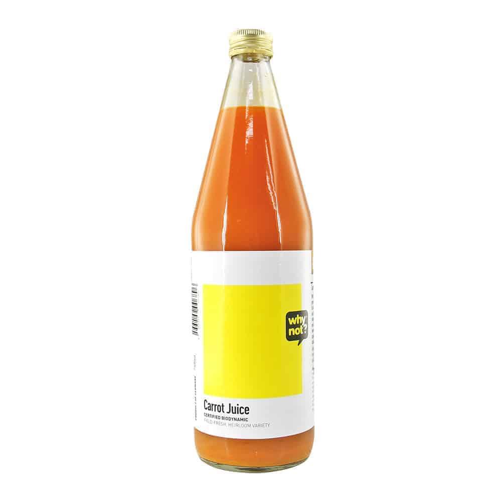 Why Not? Carrot Juice (field-fresh), 750ml