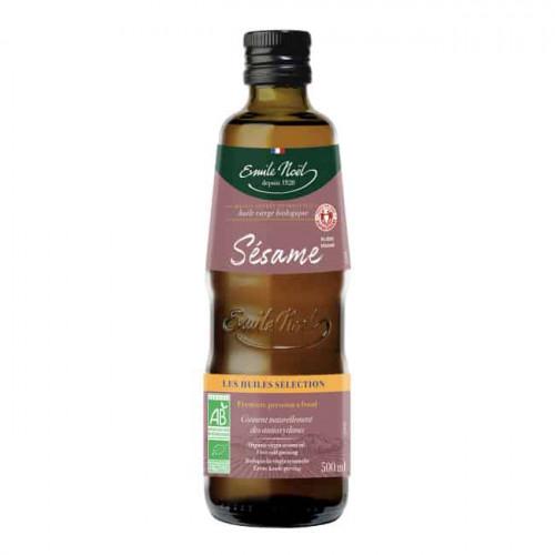 Emile Noel Virgin Sesame Oil Fair Trade 500ml
