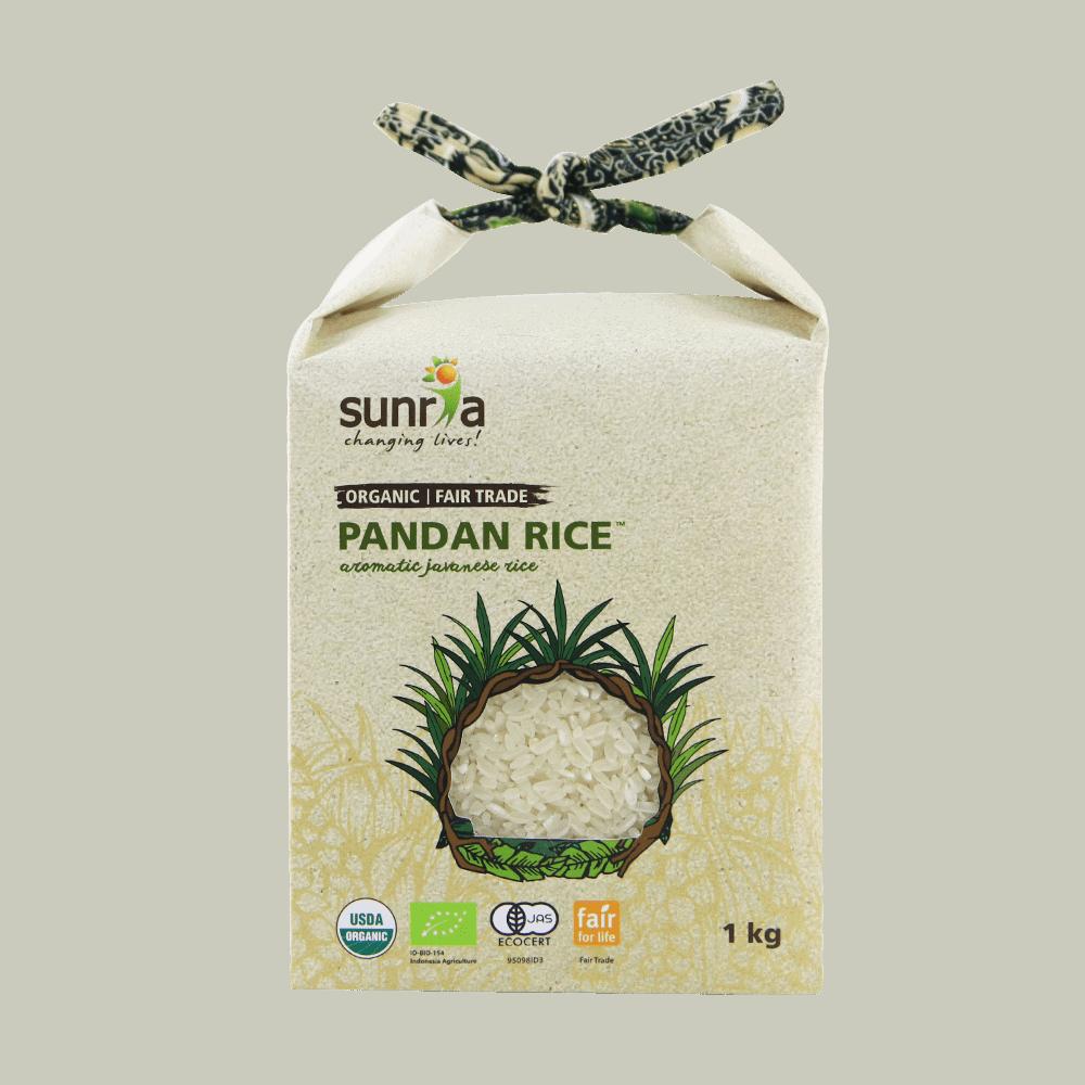 Sunria Pandan Rice (White) 1kg
