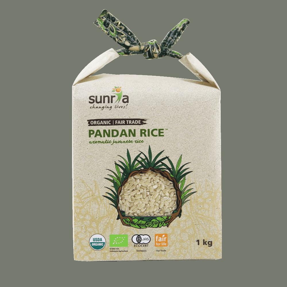 Sunria Pandan Rice (Brown) 1kg