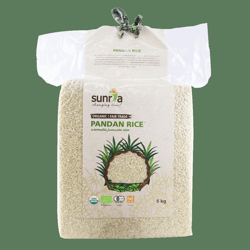 Sunria Pandan Rice (Brown) 5kg