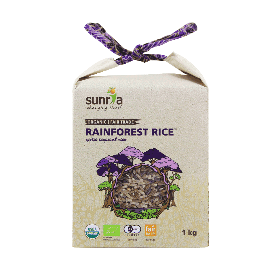 Sunria Rainforest Rice 1kg