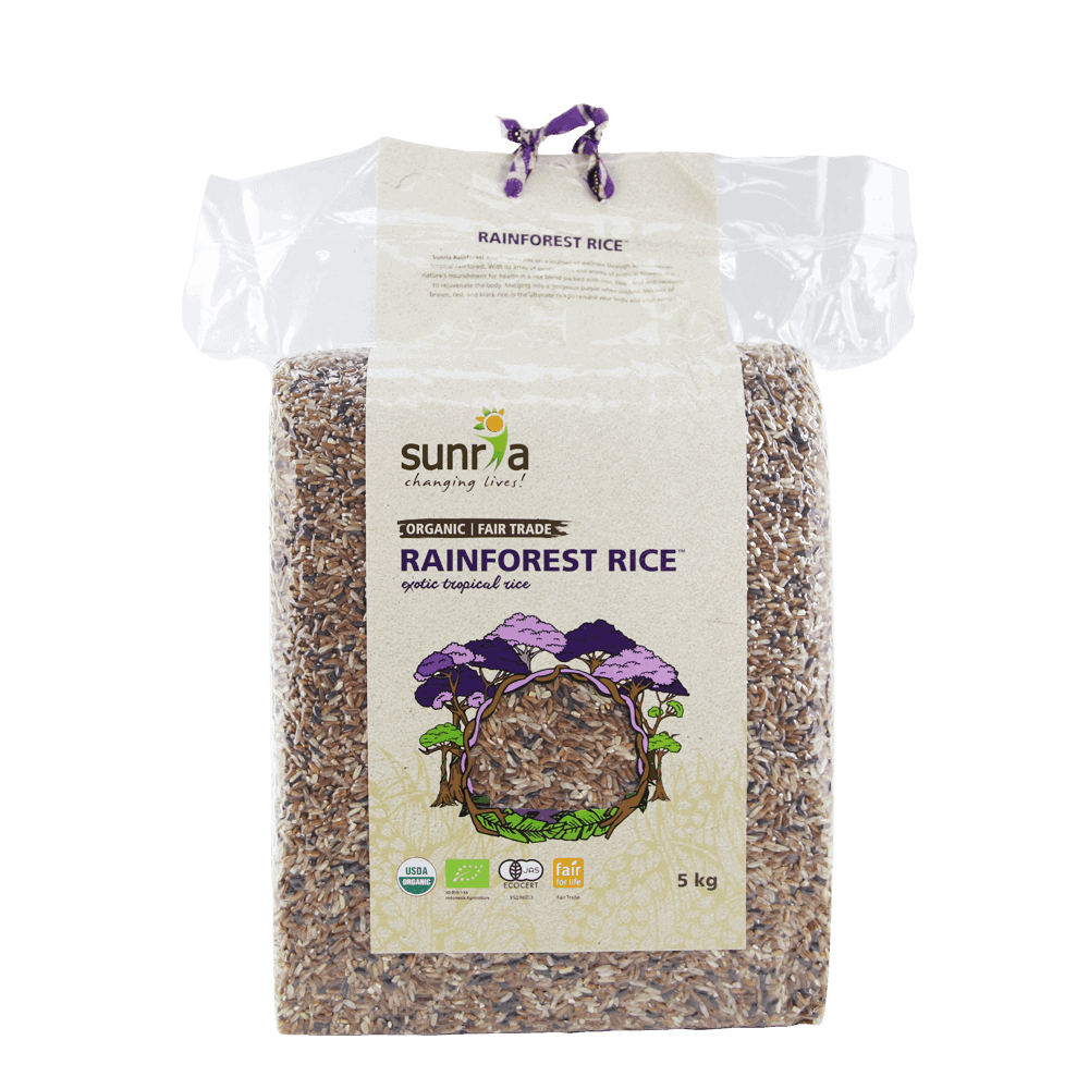 Sunria Rainforest Rice 5kg