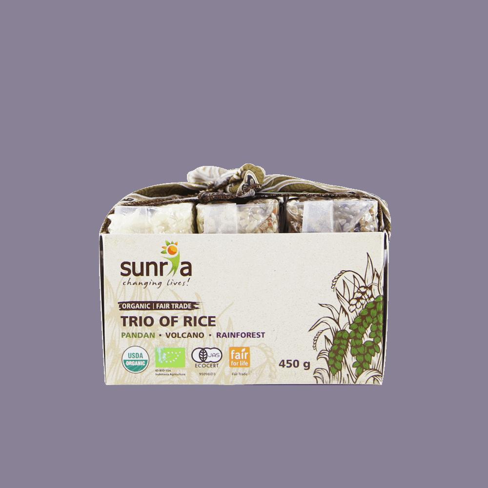 Sunria Trio of Rice 450g