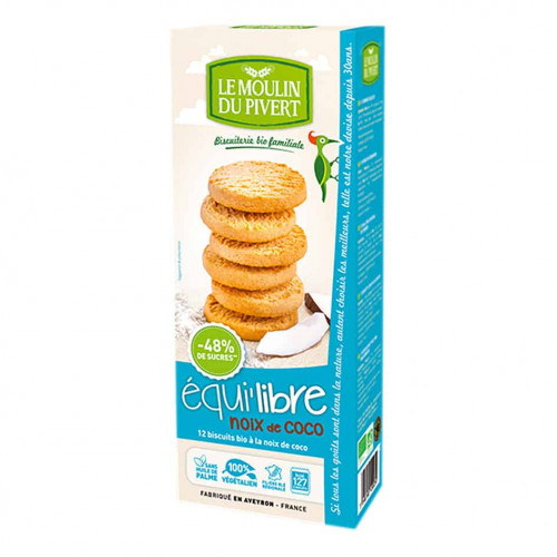 Box of Le Moulin Coconut Biscuits, 150g