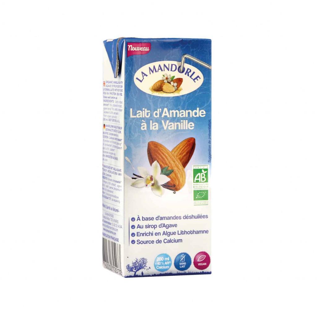 La Mandorle Almond Milk With Vanilla, 200ml