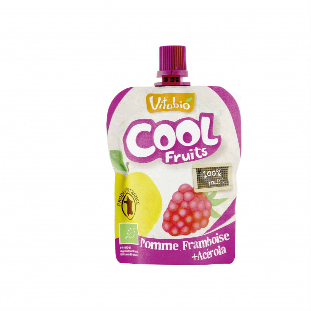 Vitabio Organic Cool Fruit Apple-Raspberry