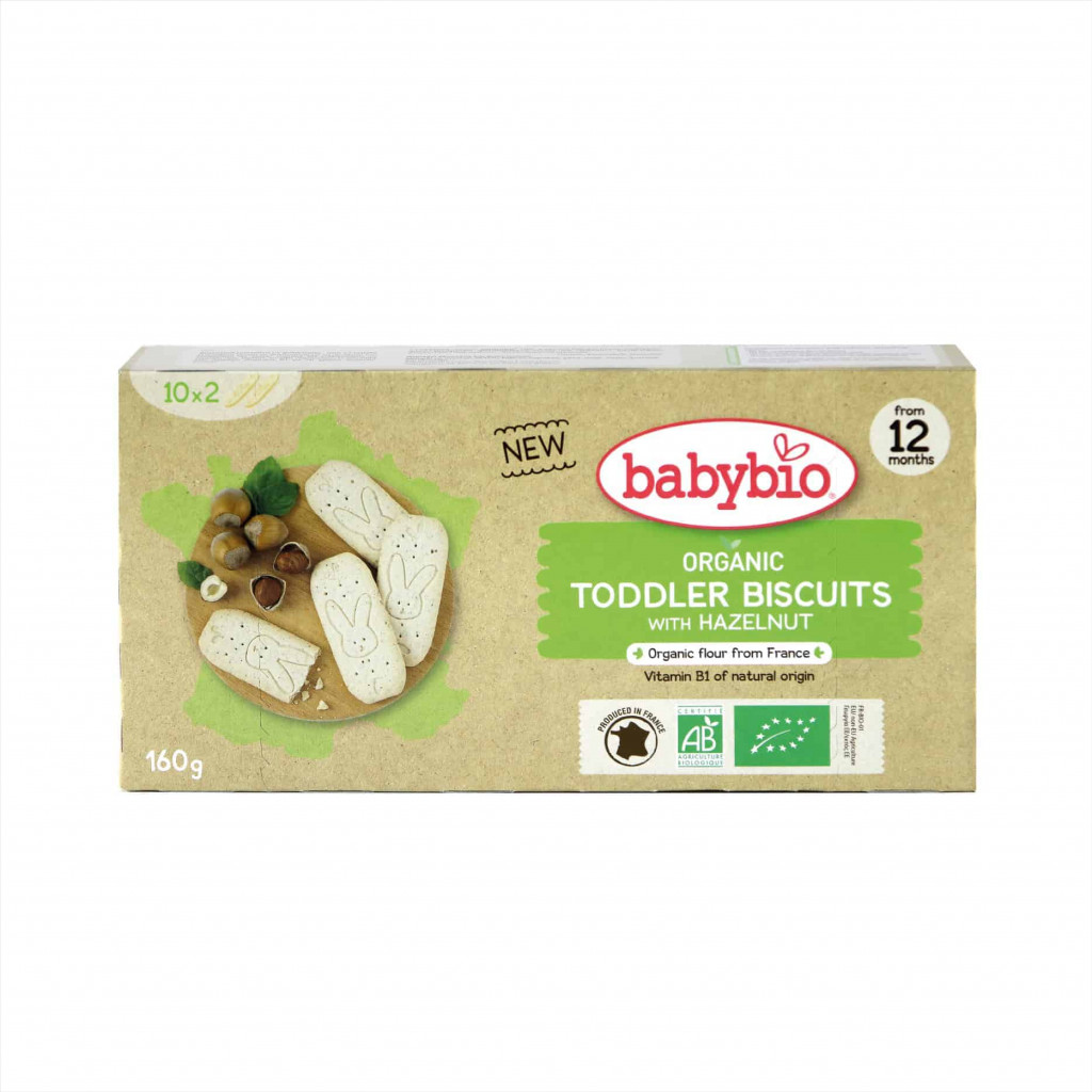 Babybio Organic Hazelnut Biscuits for Toddlers