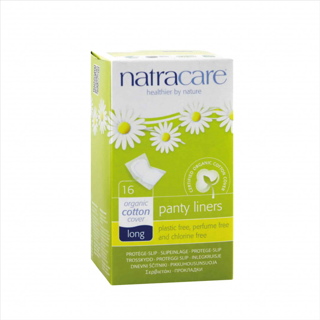Natracare Long Panty Liners, 16pc