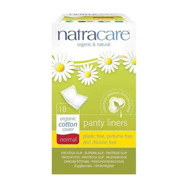 Natracare Panty Liners (Individually Wrapped), 18pc