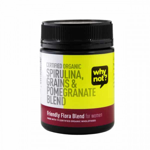 Why Not Organic Friendly Flora Blend For Women 150g