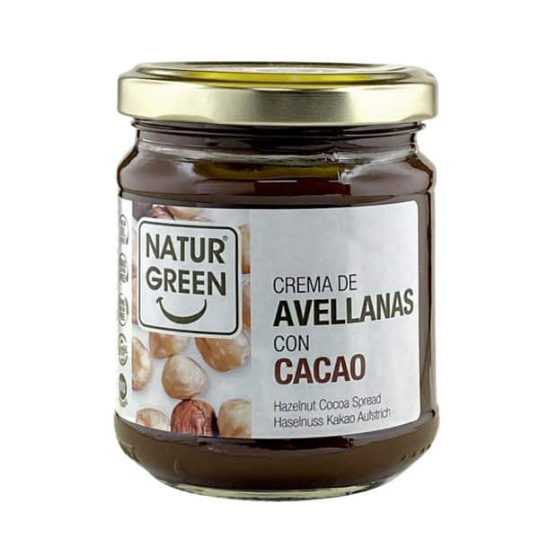 NaturGreen Organic hazelnut and cocoa Spread 200g