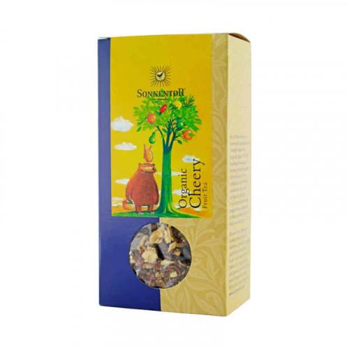 Box of Sonnentor Organic Cherry Fruit Tea, 100g