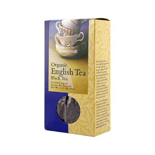 Box of Sonnentor Organic Assam English Black Tea, 95g