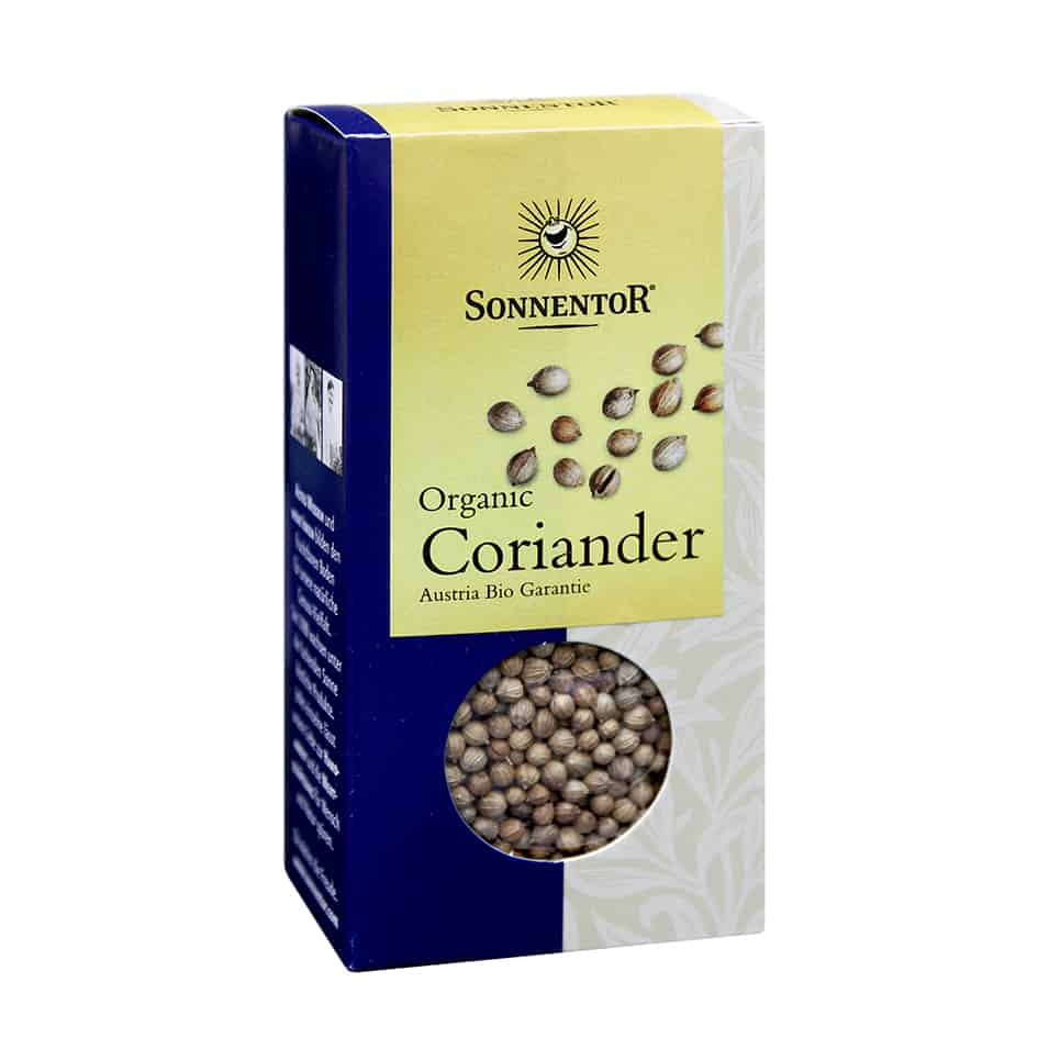 Sonnentor Coriander Whole, 35g