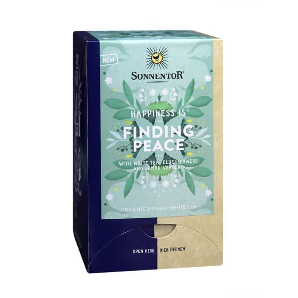 Sonnentor Happiness is… Finding Peace Tea Blend, 18 teabags