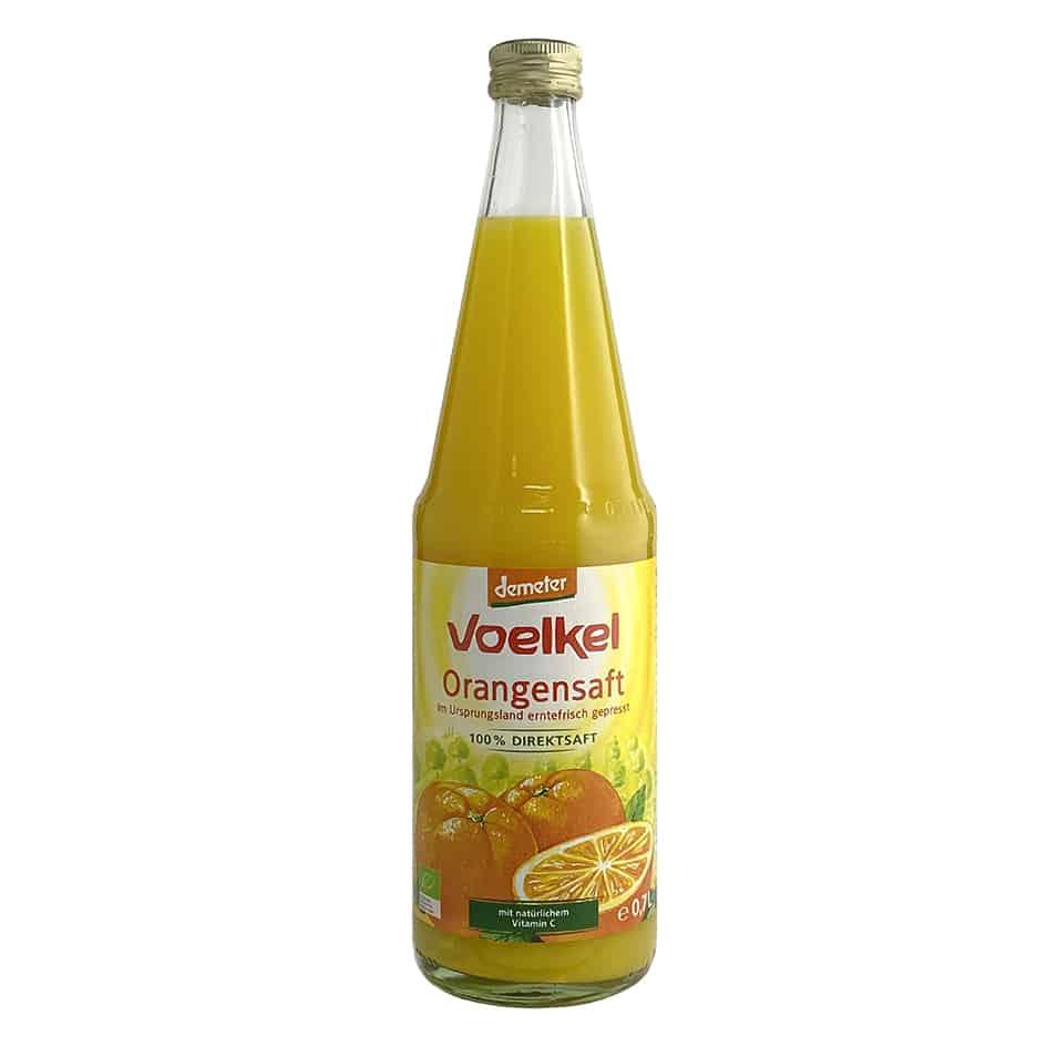 Voelkel Organic Orange Juice (Demeter), 700ml