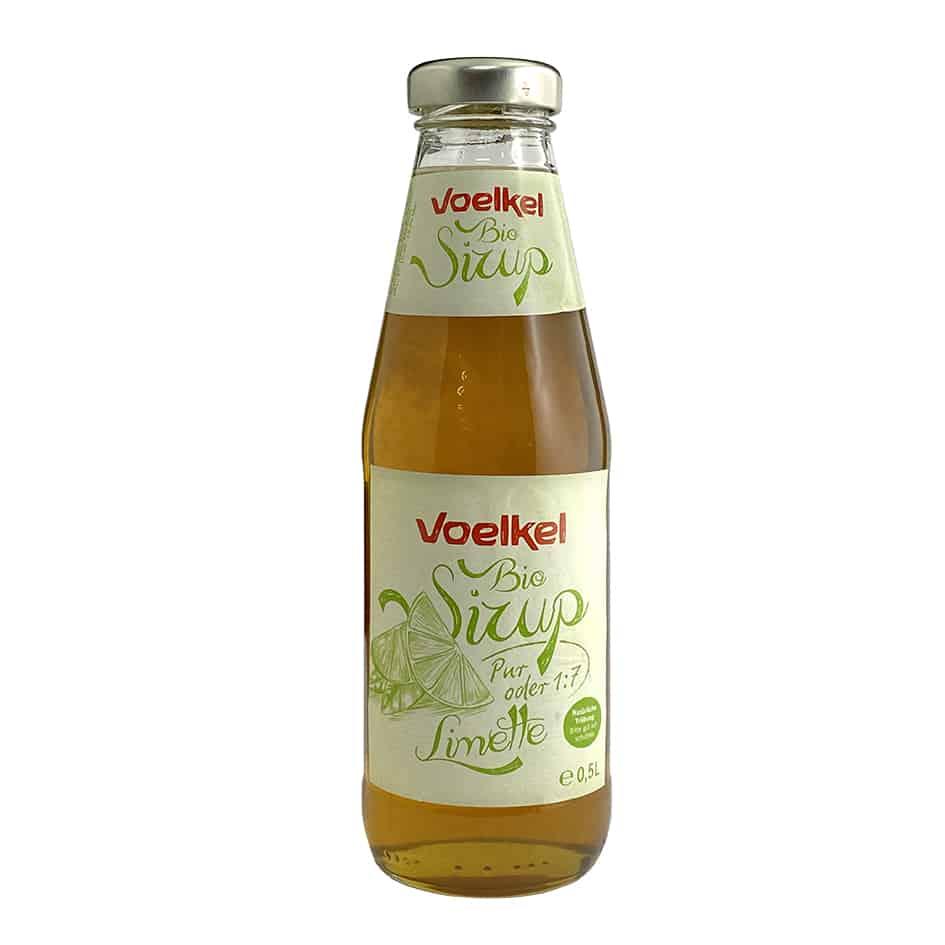 Voelkel Organic Lime Syrup, 500ml