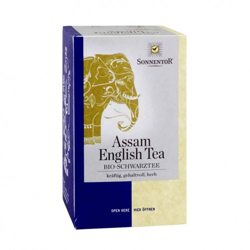 Sonnentor Assam English Tea 18 teabags