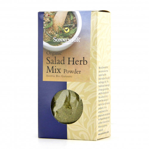 Box of Sonnentor Organic Salad Herb Mix Powder, 35g