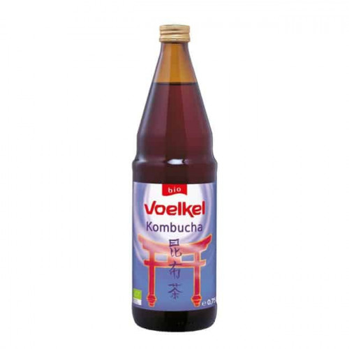 Bottle of Voelkel Organic Kombucha Original, 750ml