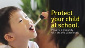Protect Your Child At School - Why Not® Organic Superfoods
